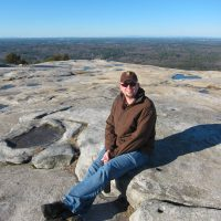 Rich on Stone Mountain