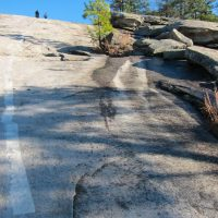 Stone Mountain is Steep!