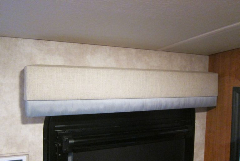Re-Covered RV Valance