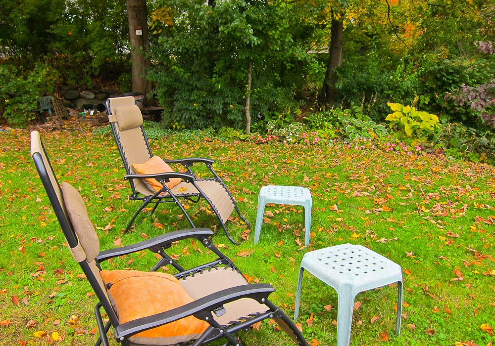Back Yard Chairs