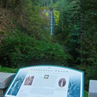 Latourell Falls Signage