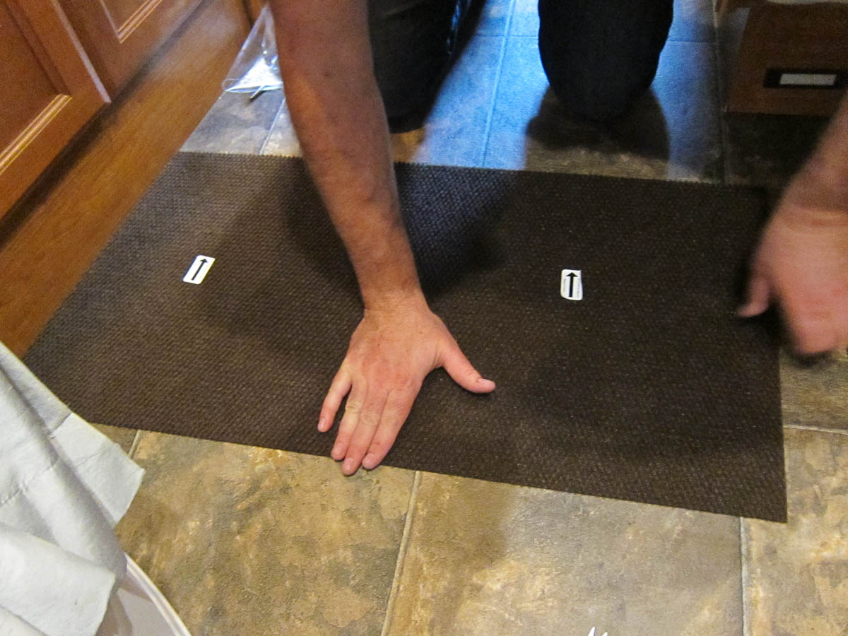 How We Replaced The Carpet In Our Rv For Less Than 60 Trek With Us