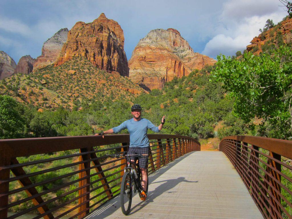 Rich Biking through Zion