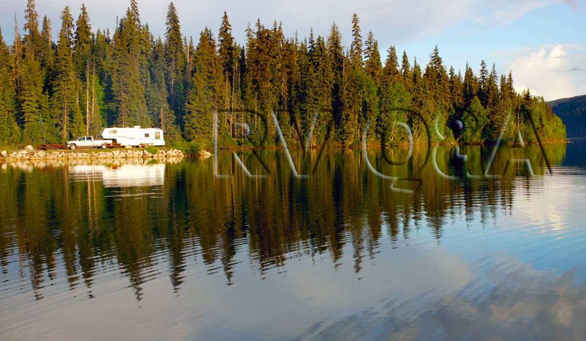RV using lake water