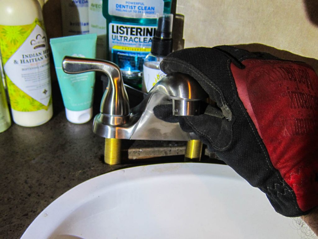 The new Delta Faucet fits perfectly