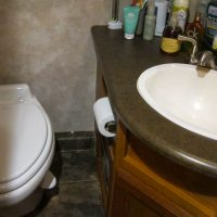 New toilet and new sink faucet!