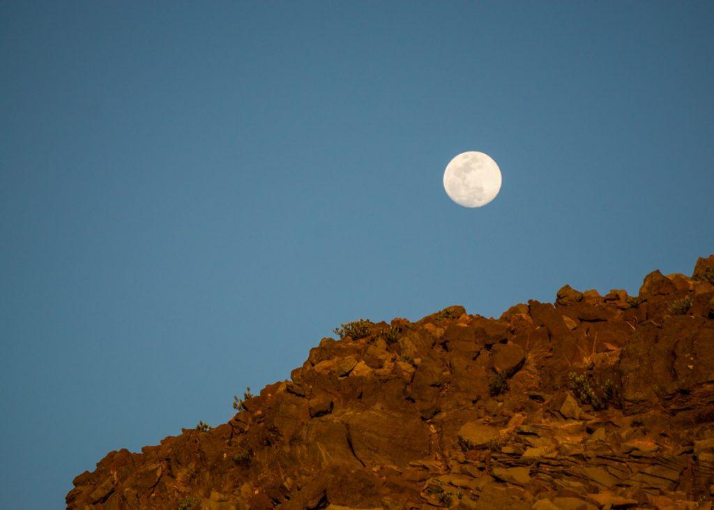 Moonrise on Haleakalā
