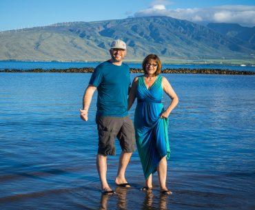 Rich & Kathy in Maui