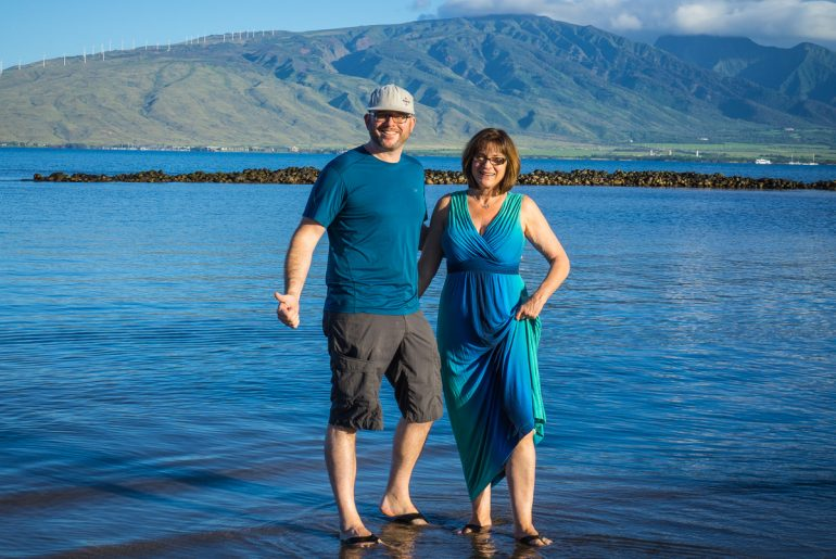Rich & Kathy in Maui